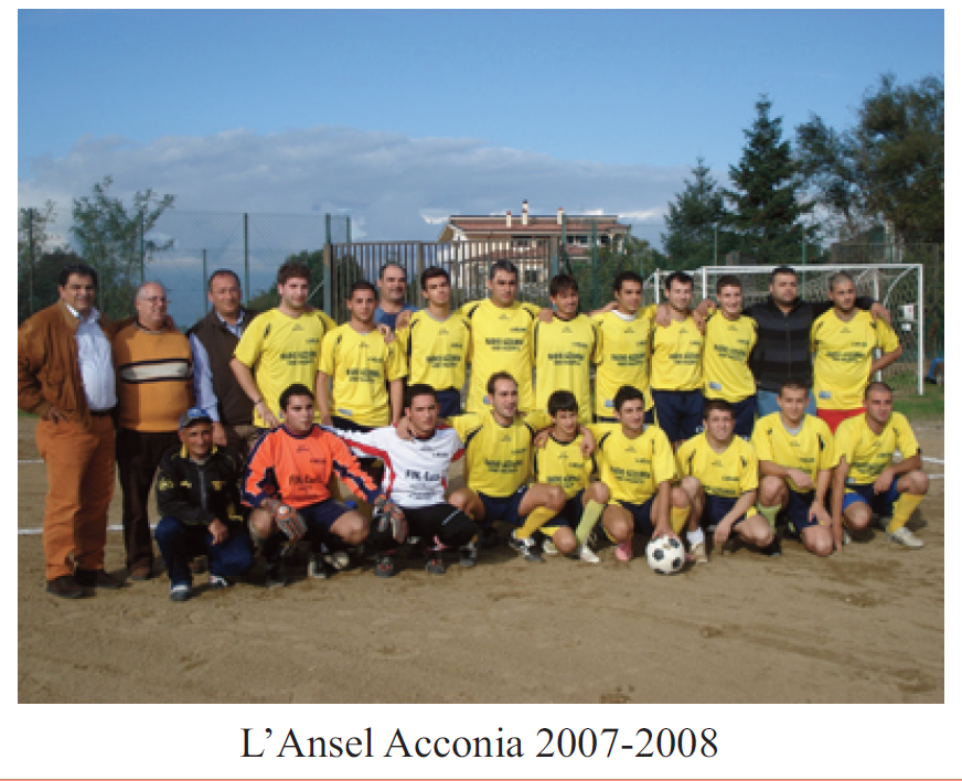 Ansel Acconia 2007-08